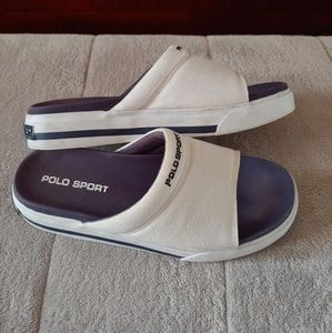 Polo sport canvas slides